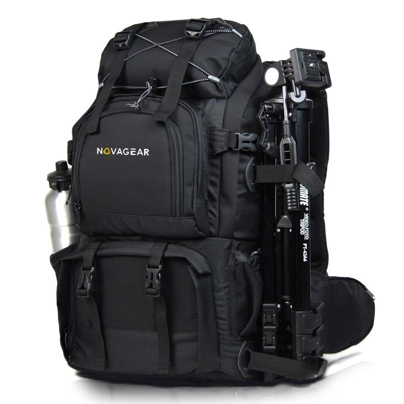 NOVAGEAR 80302 Photo Bag Camera Backpack Universal Large Capacity Travel Camera Backpack For Canon/Nikon Digital Camera