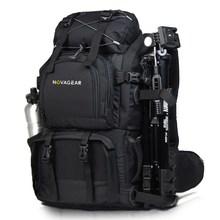 NOVAGEAR 80302 صور حقيبة حقيبة الكاميرا العالمي سعة كبيرة السفر حقيبة الكاميرا لكانون/نيكون كاميرا رقمية