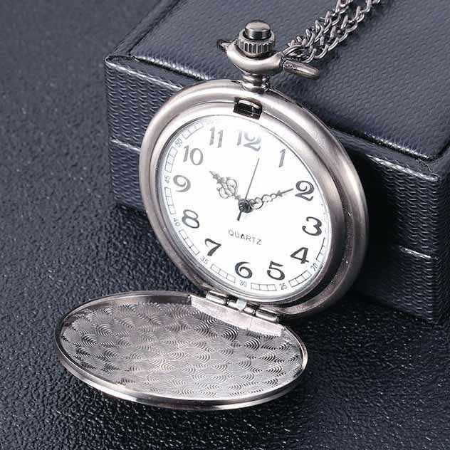 Relógio de bolso de quartzo para o meu filho eu te amo corrente relógio comemorativo presentes lembrança de aniversário marca superior luxo relógios exclusivos hb002