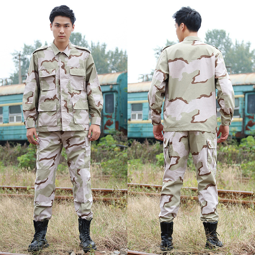 Men Army Tactical Military Uniform Multifunction Pocket Design High Quality Camouflage Print Combat Airsoft Hunting US Army Suit