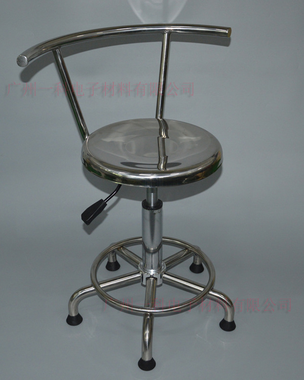 Direct Selling All Stainless Steel Round Stool Chair Medical Care Laboratory Chair Bar Stool 304 Stainless Steel Height Adjustab