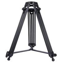 Professional Heavy Duty Video Camera Camcorder Tripod Adjustable Aluminum Alloy Tripod Universal Cameras Accessory