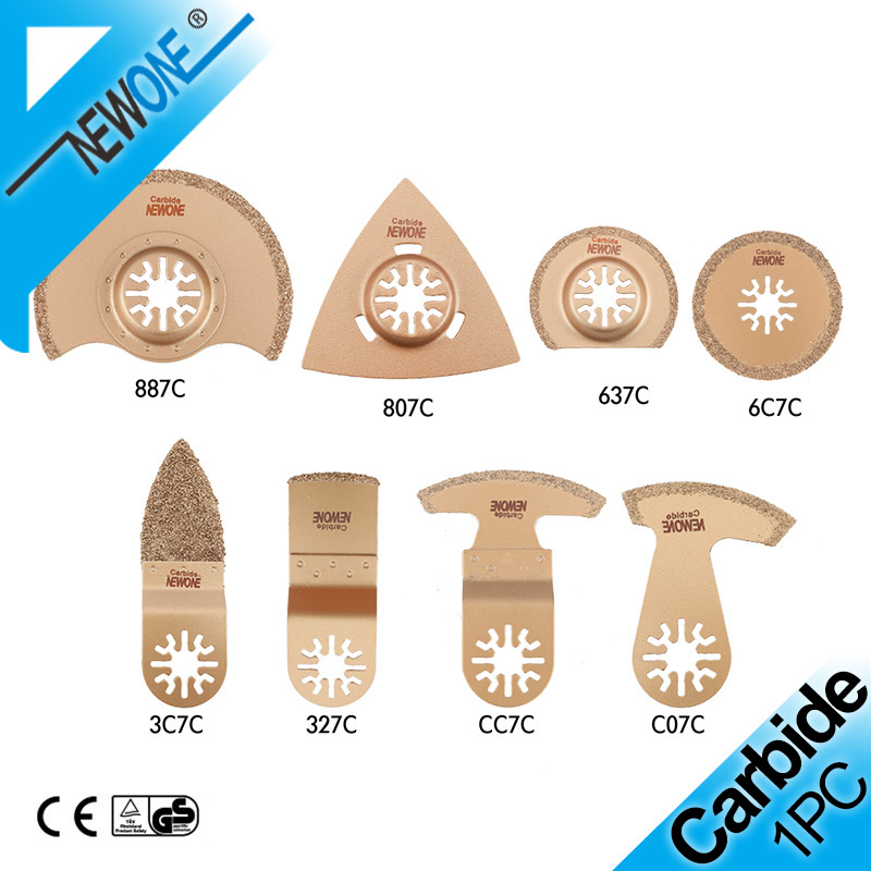 NEWONE Carbide Oscillating Saw Blade Accessories In Electric Power Timmer Saw Blade Fein Multi Tool Renovator For Tile Adhesive