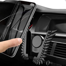 Гравитационный Автомобильный держатель для телефона искусственных