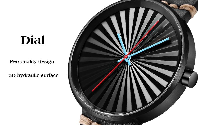 H431f7b11f90c44eeba99ea5235434a72c Men Women Unisex Fashionable Creative Watch