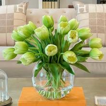 Decoration-Accessories Artificial-Flower-Bouquet Tulip Fake-Flowers Home-Decor Pink Widding
