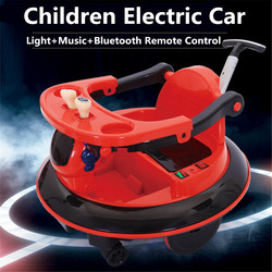 Paseo en coches al aire libre niños coche eléctrico control remoto vehículos niños niñas paseo en coche juguetes para niños coche de juguete RC