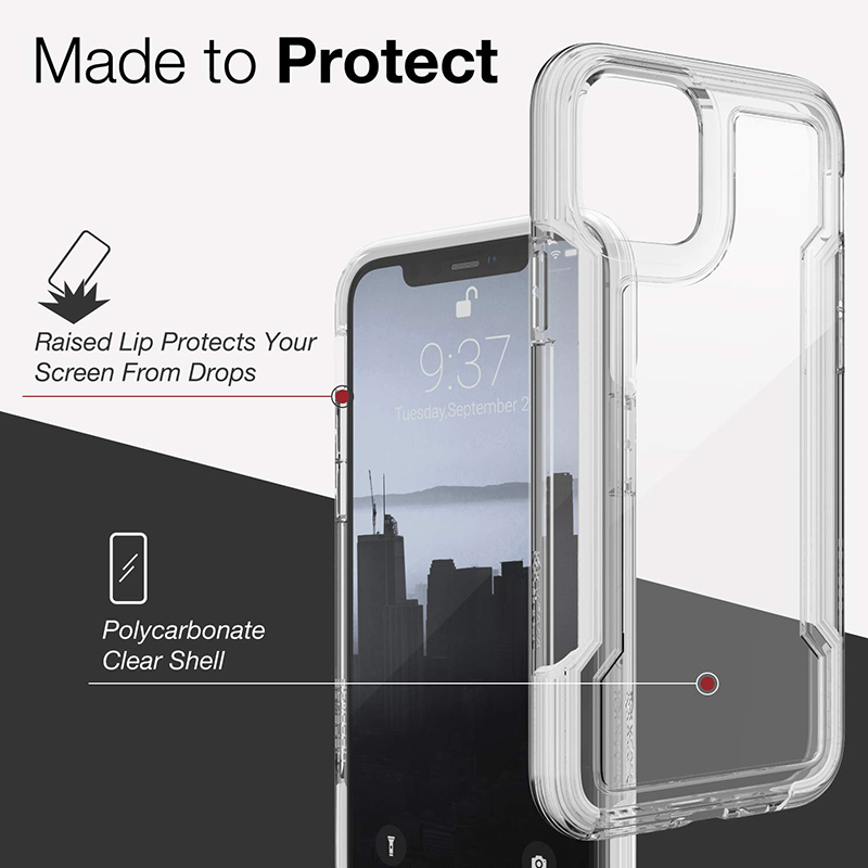 The Armour Defense Clear Phone Case For iPhone 11 Series