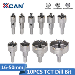 12mm-120mm TCT Carbide Tip Hole Saw Drill Bit Hex Shank Stainless Steel Cutter