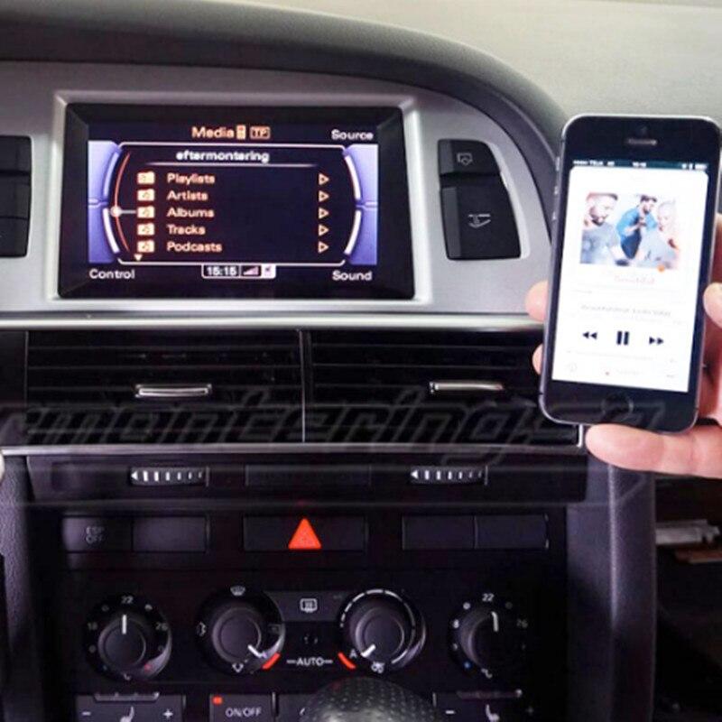 Le plus récent!! CHELINK voiture Kit musique Audio Bluetooth récepteur sans fil pour Audi et Benz adapté iPhone X 8 8plus 7 iPad et Android - 5