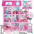 LOL Surprise maison originale avec 85 + Surprises! Cadeau de noël pour enfants jouer maison jouet pour fille