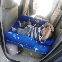Car Air Inflatable Travel Mattress Bed  Multi Functional Sofa Pillow Outdoor Camping Mat Baby inflatable bed