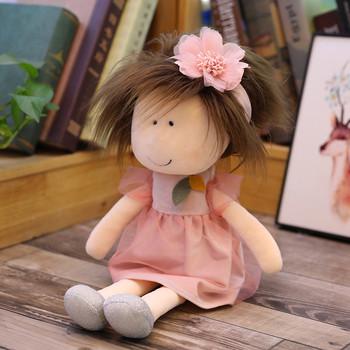 Zabawki dla dzieci ręcznie szmata lalki do dekoracji wnętrz i projektowania wnętrz 14 Cal prezent zabawki ciekawe zabawki jueguetes # L35 tanie i dobre opinie CN (pochodzenie) other Tkaniny 3 lat Pluszowe nano doll Unisex none Double-Sided Flip Doll Pp bawełna