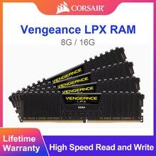 CORSAIR Vengeance LPX, ordinateur portable, Module 2400, 8 go DDR4, 3000Mhz, 3200Mhz, 2400Mhz, 16 go, 32 go, mémoire de bureau, DIMM, Module 3000