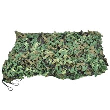 Hunting Camouflage Nets Woodland Camo Netting Blinds Great For Camping Sun Sheltertent Shade,300Mmx600Mm(China)