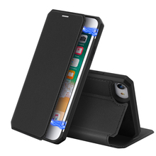 For iPhone SE 2020 Case PU Leather+Soft TPU Cover Flip Stand Magnetic Closure Wallet Cover For iPhone SE2 9 Case Card Holder