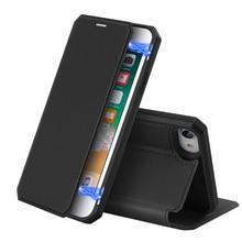 Iphone se 2020 ケース pu レザー + ソフト tpu カバーフリップスタンド磁気閉鎖 iphone SE2 9 ケースカードホルダー