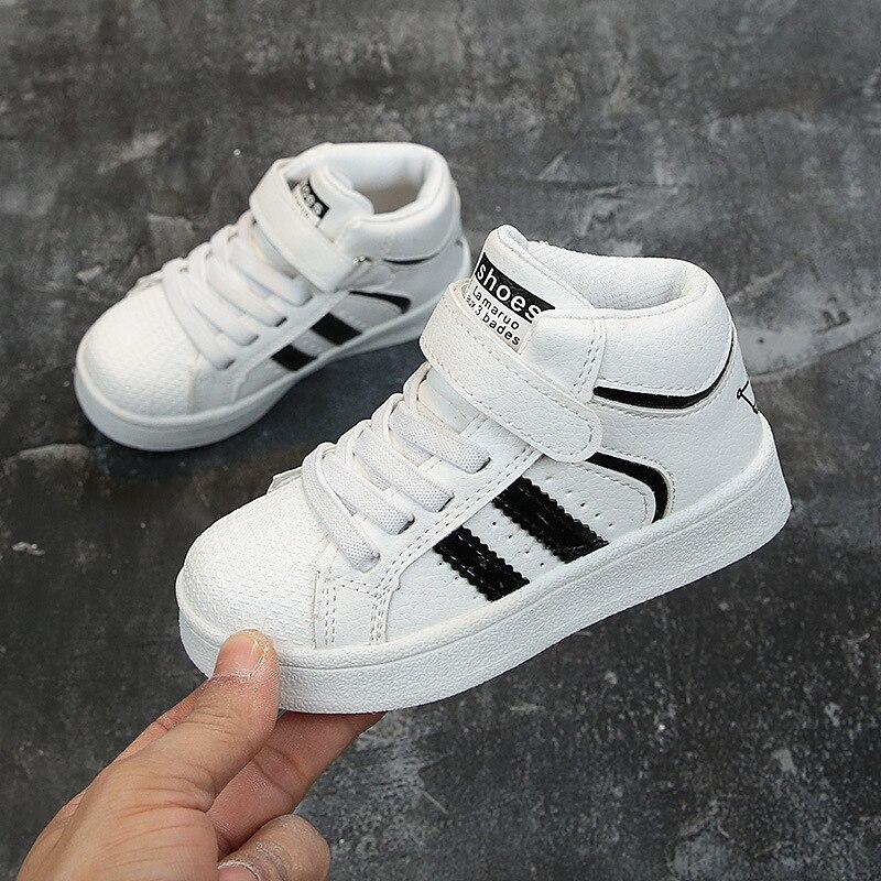 Hiver enfants chaussures pour bébé baskets mode enfants chaussures chaussures décontractées haut chaussures de Sport chaussures de course enfant en bas âge enfants baskets