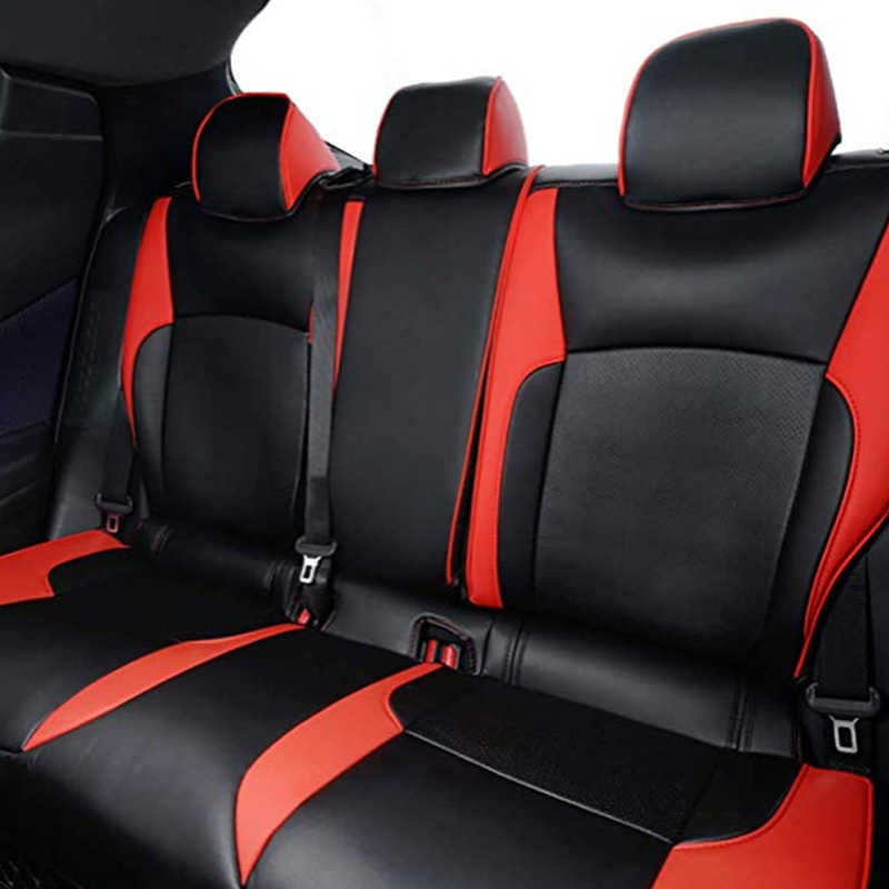 Whole Front Rear Seat Cover For Toyota CHR 2018 ACCESSORIES Safety Air Bag Seat Protection Cover For Toyota C-HR 2017 2018 2019