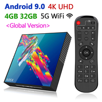 2019 New Smart TV Box Android 9.0 A95 R3 4K HD Set Top Box 4GB RAM 32GB 64GB ROM Media Player 5G WiFi 100M LAN Global Universal