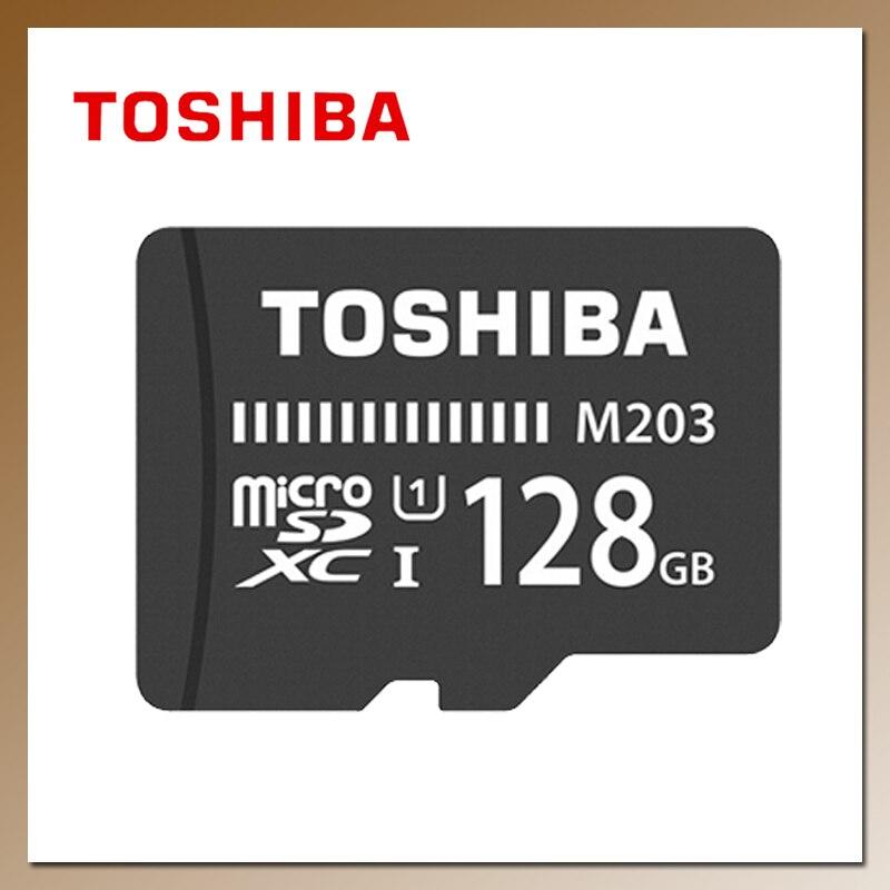 توشيبا M203 ذاكرة فلاش بطاقة 32 جيجابايت 64 جيجابايت 128 جيجابايت 16 جيجابايت SDHC/ SDXC مايكرو SD ماكس 100 برميل/الثانية TF بطاقة فئة 10 UHS-I كارتاو دي ميموريا