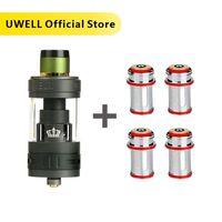 UWELL CROWN 3 tanque 5ml y CROWN 3 bobina 0 25/0 4/0 5 ohm atomizador 510 rosca Sub cigarrillo electrónico ohm tanque Vaping