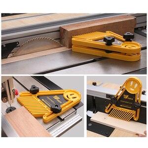 Image 3 - متعددة الأغراض ريشة لوك المجلس مجموعة ماكينة نقش أعمال خشبية مزدوجة الريش ميتري مقياس فتحة عدد وأدوات الخشب