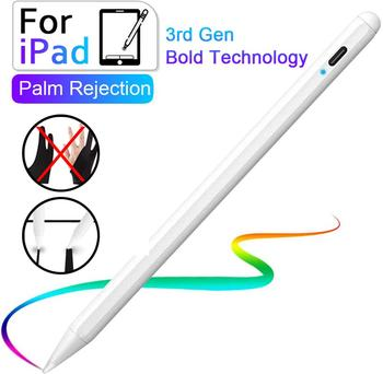 цена на For Apple pencil iPad Palm Rejection Stylus Pen For iPad Pro 3rd Gen 2018 6th 7th Gen Mnin 5th 2019 air 3rd Gen For Apple pencil