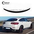 Neue Ankunft C253 Carbon Fiber Spoiler Hinten Stamm Flügel für Mercedes GLC Klasse Coupe W253 C253 2016 Präsentieren-in Spoiler & Flügel aus Kraftfahrzeuge und Motorräder bei