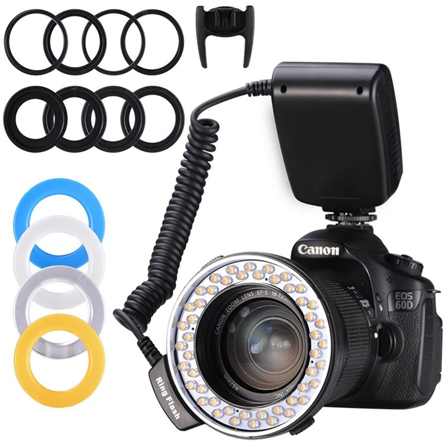 MAMEN макро кольцо комплект вспышки Speedlight Speedlite для Canon Nikon Fujifilm Olympus Pentax DSLR камера фото Кольцо вспышка