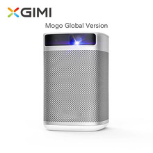 XGIMI Mogo DLP Mini projektör 10400mAH pil taşınabilir Video projektör Android 9.0 destek HD 3D Wifi akıllı telefon ev sineması