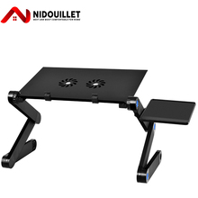 Desk Foldable AB003 Cooler Notebook Cooling-Fans Computer with Mouse-Pad Vented Nidouillet