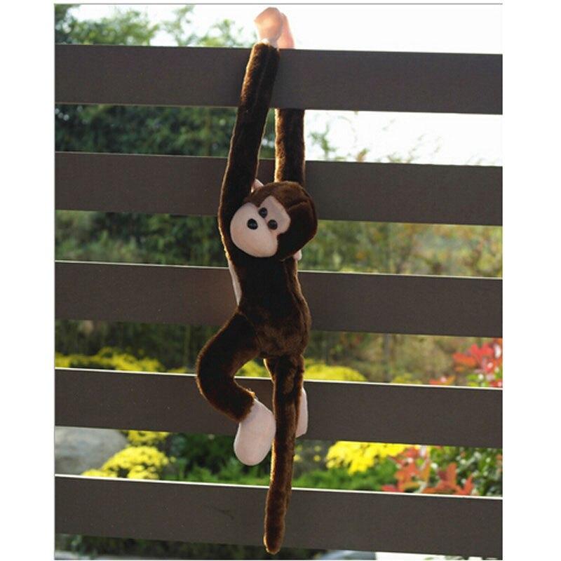 2020 модные милые визг обезьяна плюшевые игрушки куклы кукольные гиббоны детский подарок кофе забавные подарки игрушки для детей; Прямая пос...