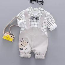 Костюм для маленьких мальчиков модная детская одежда красивый
