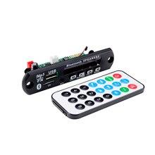 цена на Car Audio APE MP3 Wireless Bluetooth Decoder Module 12V Color Screen USB TF MP3 Decoding Board FM Radio Lossless FLAC MP3 Player