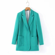 Fashion Blazer Women Coat 2019 Autumn New Womens Suit Long Sleeve Clothes Blaser Feminino Bleiser Blazers