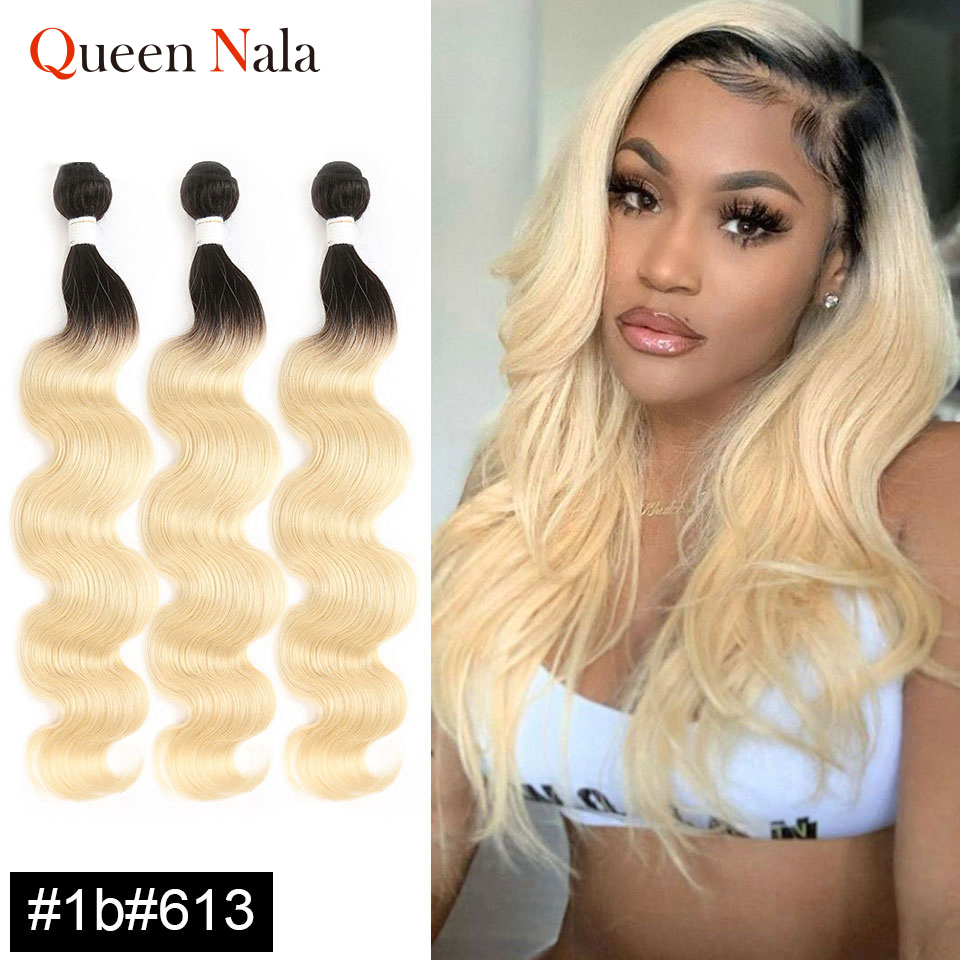 Tissage en lot naturel Remy Body Wave coloré-Queen-Nala, 8 à 26 pouces, Extensions de cheveux bordeaux, 4/27/30/33/99j
