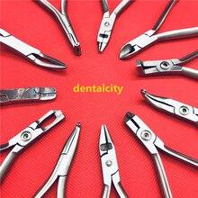 1 قطعة الأسنان تقويم الأسنان الملقط ربط القاطع كماشة أدوات طب الأسنان أدوات تقويم الأسنان