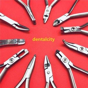 Image 1 - Pinzas de ortodoncia Dental, 1 Uds., alicates cortadores de ligadura, Instrumentos dentales, instrumentos de ortodoncia