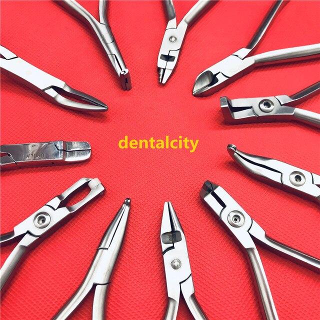 Pinzas de ortodoncia Dental, 1 Uds., alicates cortadores de ligadura, Instrumentos dentales, instrumentos de ortodoncia