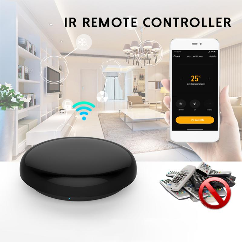 Home 2.4G WiFi IR Hub Control Adapter Smart Home Mini Remote Control Support Alexa Google Home Assistant Voice App Control