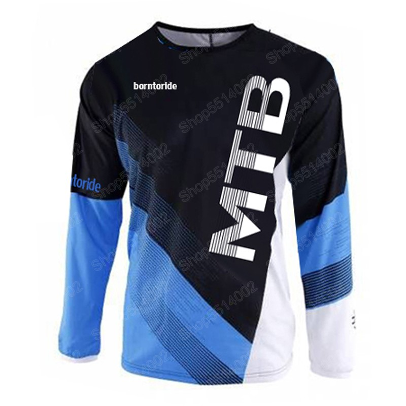 NEW FXR Men/'s Long Sleeves Racing Moto Jersey Riding MX MTB ATV Motocross White