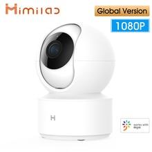 الإصدار العالمي IMILAB كاميرا ذكية الأشعة تحت الحمراء للرؤية الليلية 360 ° 1080P Al الإنسان كشف H.265 المنزل الذكي كاميرا IP لاسلكية