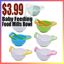 Bowl Food-Mills Baby 1set Sucker Kitchen-Tools Daily-Care Non-Slip Kids Portable Children