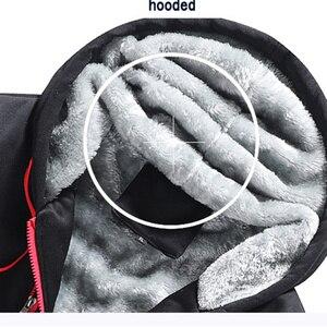 Image 5 - Fojaganto moletom masculino com capuz, seção grossa, de outono e inverno
