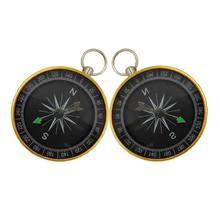 Travel theme party gift compass Tag Pendant wedding souvenir birthday decorations Festival Party Supply E65B(China)