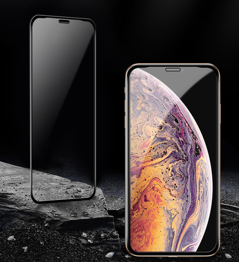 <font><b>Baseus</b></font> 0.3mm Screen Protector Tempered Glass For <font><b>iPhone</b></font> Xs Max X Xr Full Cover Protective Glass For <font><b>iPhone</b></font> 11 Pro Max Protection image