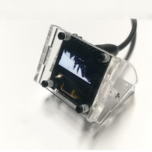 Mini 0.96 Inch OLED Stereo Music Spectrum Display Analyzer Amplifier Audio Level Indicator Rhythm Analyzer VU METER