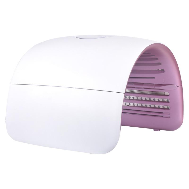 LED Photon Therapy Foldable Skin Care Photon PDT Facial Mask Machine Acne Treatment Whitening Skin Rejuvenation Light Therapy