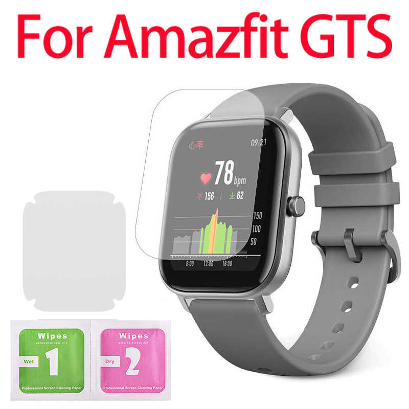 1/2/5Pcs Protective Film For Amazfit GTS Watch Screen Soft Clear Protector TPU Film For Amazfit GTS Full HD TPU Smart Watch